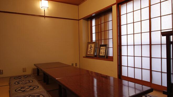 満潮 - 内観写真:二階には、接待にもご利用頂ける個室・大人数の宴会も承ります。