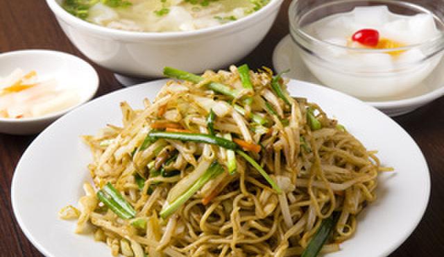 好記園 - 料理写真:台湾風焼きそばセット  850円