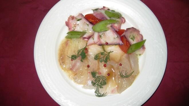 イル・マーレ ブルー - 料理写真:鮮魚のカルパッチョ