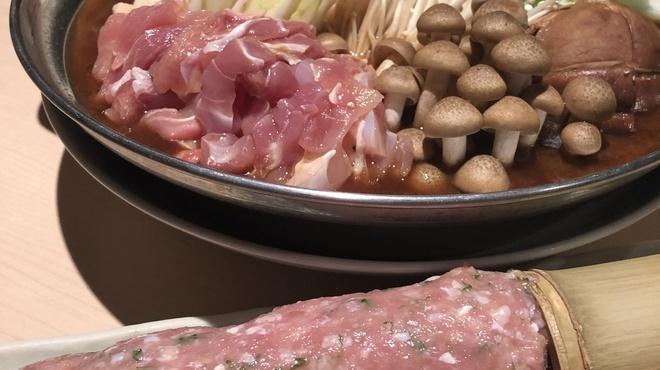 心水 - 料理写真:特製つみれ味噌鍋