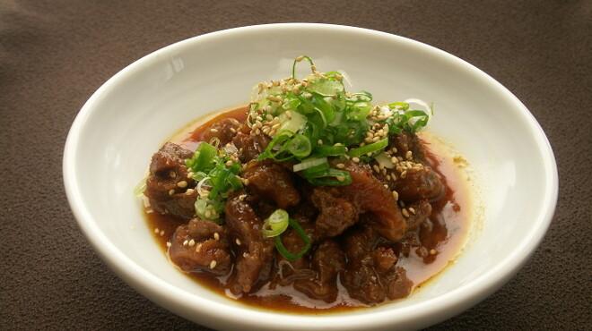 幸喜屋 - 料理写真:【牛スジの煮込み】 国産牛のすじ肉をじっくり煮込んだ料理。コース料理の人気メニュー!