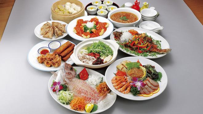 あたか飯店 - 料理写真:忘新年会 皇帝宴会プラン