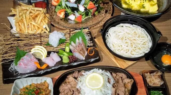 離島のテーブル - 料理写真:コース(3)