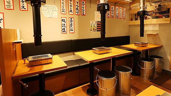 焼肉ここから - メイン写真:テーブル席