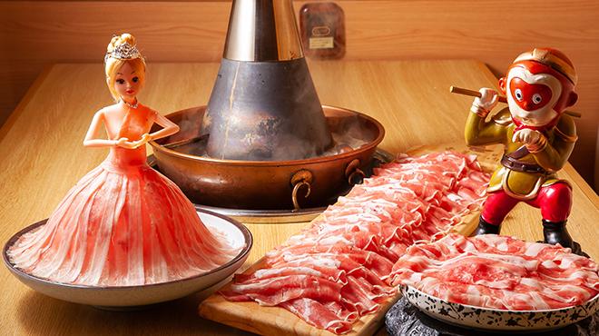 中華火鍋 東華しゃぶしゃぶ  - 料理写真:お肉盛り合わせ