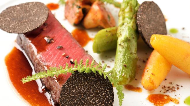 レストラン ラ・フロレゾン・ドゥ・タケウチ - 料理写真: