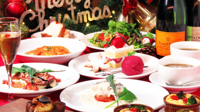 コーデュロイカフェ - 料理写真:クリスマスコース