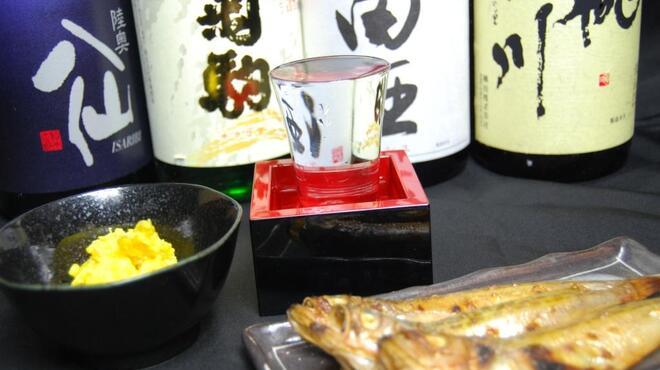 ごっつり - 料理写真:田酒をはじめ、八仙、桃川、菊駒など青森の地酒が堪能できます!!