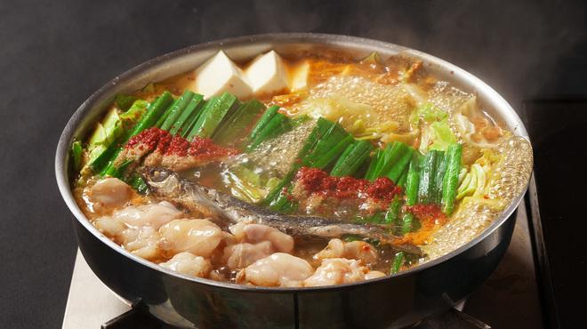 もつ鍋 極味や - 料理写真:あご出汁もつ鍋