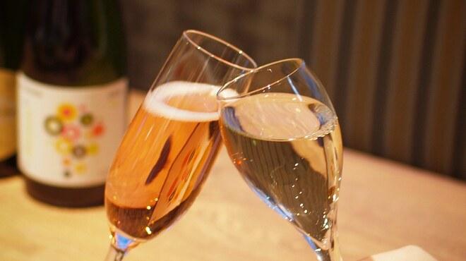 中華点心飲茶 クラフトビールタップ - ドリンク写真:スパークリングワイン飲み放題プラン!