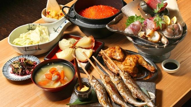 ろばたの魚炉米 - メイン写真: