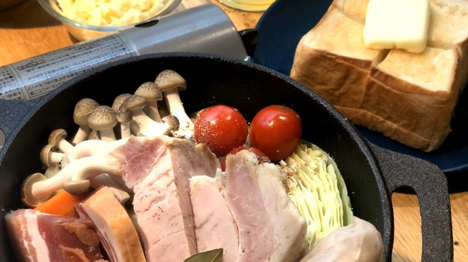 ベーカリーアンドビア ブッチャーズ - 料理写真:ビール鍋セット
