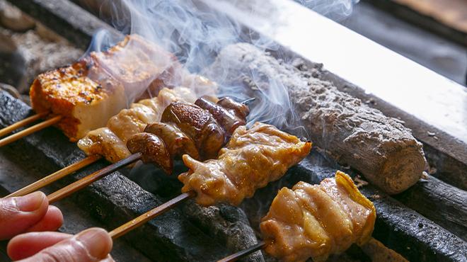 ごう - 料理写真:炭火で焼く魂の串焼き!!
