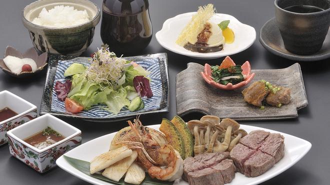 ステーキ円山 - 料理写真:ランチ・おすすめAコース