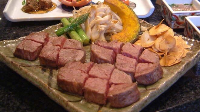 ステーキ円山 - 料理写真:道産牛170gコース