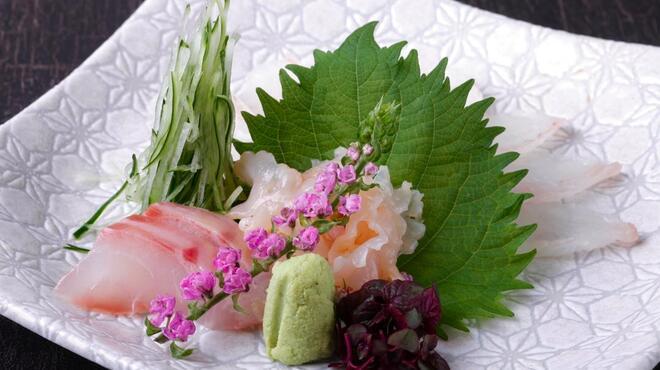 天ぷら わかやま - 料理写真:旬のお刺身