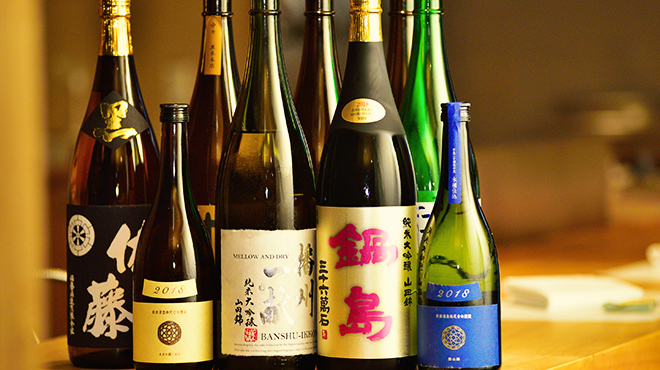 てんぷら 木坂 - メイン写真:ドリンク_日本酒