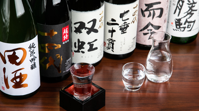 松吟庵 - メイン写真:日本酒