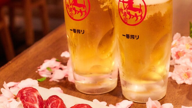 高槻肉寿司 - ドリンク写真: