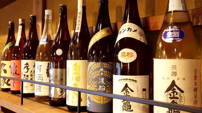 炉端と日本酒 魚丸 - ドリンク写真: