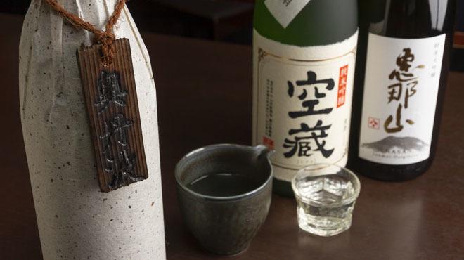 藤乃 - メイン写真:日本酒集合