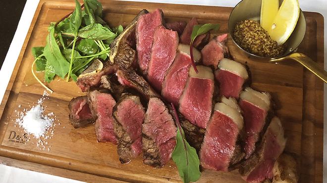 ステーキガーデン 風の邱 - 料理写真:Lボーンステーキ500g