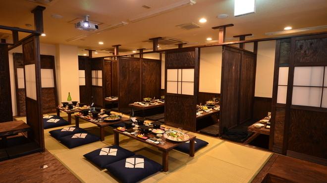 長州屋 - 内観写真:おしゃれな個室も準備