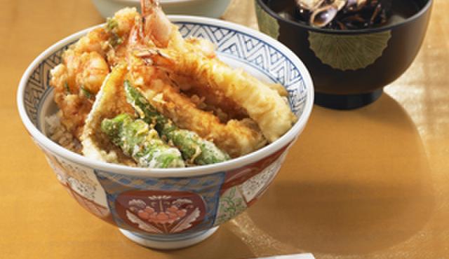 てんぷらと和食 山の上 - 料理写真:天丼
