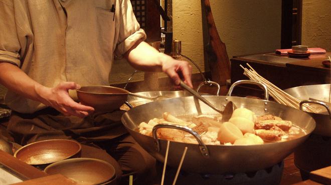 大鍋や - 料理写真:しゅんだネタをその場で提供します