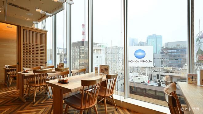 箱根暁庵 - 内観写真:箱根湯本の味わいを、銀座四丁目でゆるりと堪能