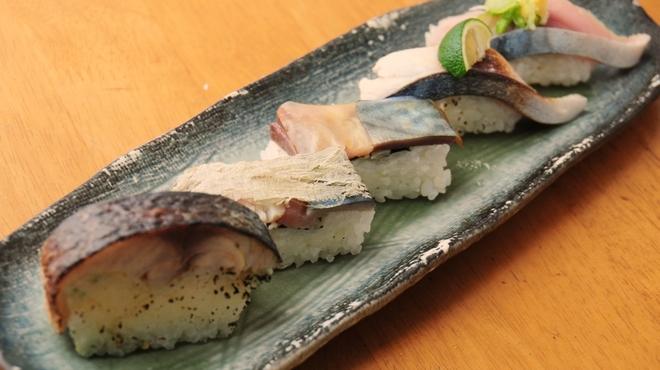 ときすし - 料理写真:寒さば三昧