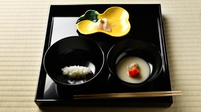 碑文谷 坂本 - 料理写真:飯、汁、向附