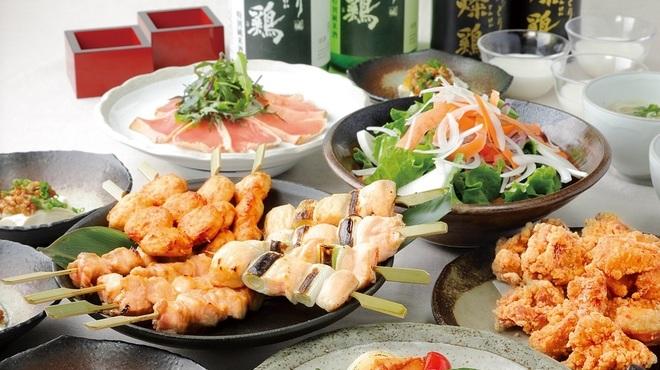 郷どり燦鶏 - 料理写真:春燦鶏コース