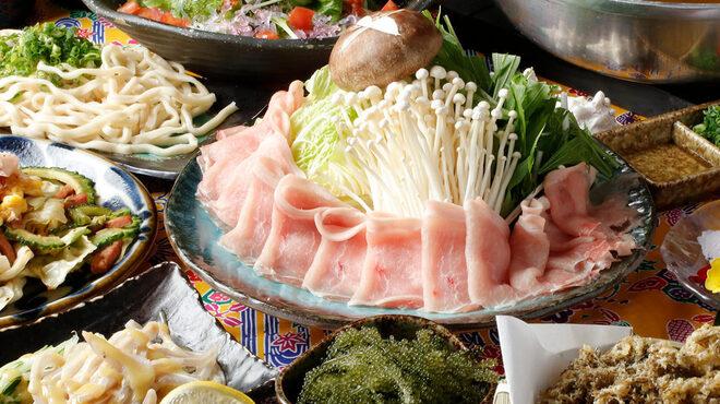 新橋 沖縄料理 奄美料理 島の台所 まさむぬ - 料理写真: