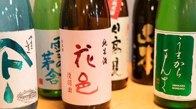 94や - ドリンク写真:日本酒は秋田推しです!