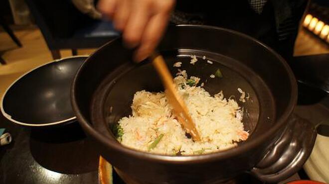 和互 - 料理写真:オーダー頂いてから炊く釜炊きごはんは大人気★