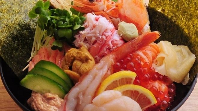ときすし - 料理写真:終日OK♪豪華海鮮丼!!