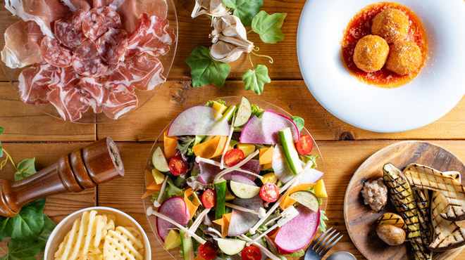 こだわり産直野菜と生パスタ ARK DINING - メイン写真: