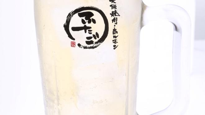 大阪焼肉・ホルモン ふたご - ドリンク写真:黒酢ヨーグルトサワー¥480