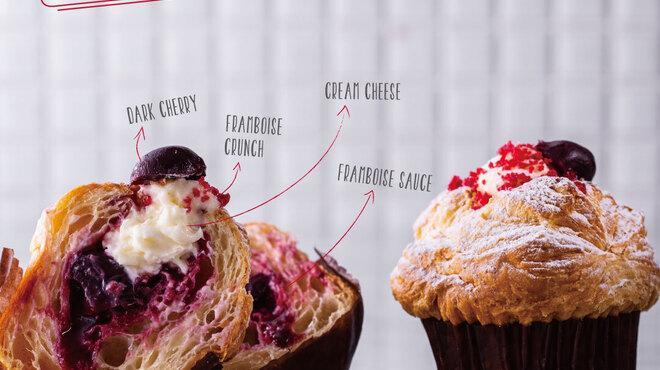 ブリオッシュ・ドーレ&カフェ - 料理写真:2020年3月1日新メニュー発売!「マフィノワズリ クリームチーズ&フランボワーズ」