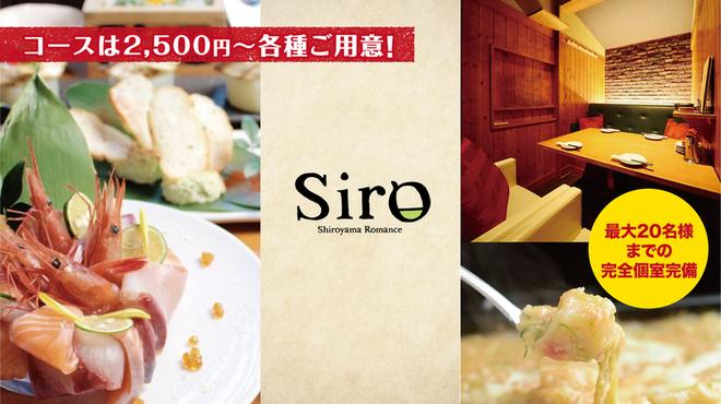 ホロ酔い酒とおいしい料理 Siro - メイン写真: