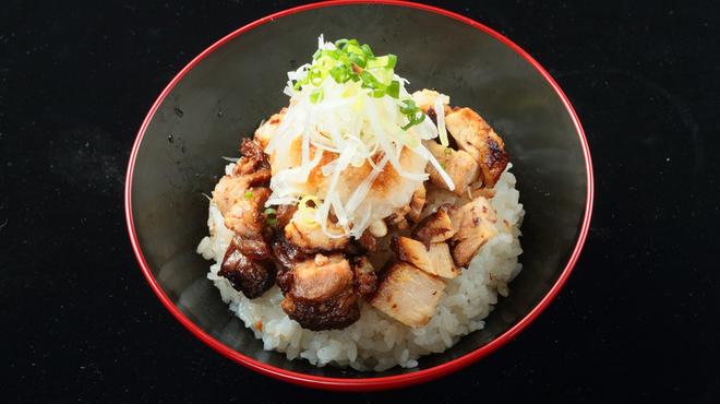 焼きあご塩らー麺 たかはし - 料理写真:和風ちゃーしゅー丼
