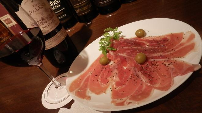 バーラジル~かいどうの屋根裏 - 料理写真:イタリア産パルマ 生ハム プロシェット1年半熟成