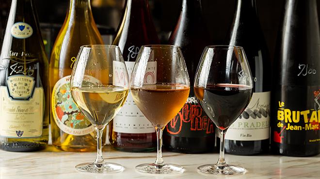 籃らん - ドリンク写真:ワイン自然派