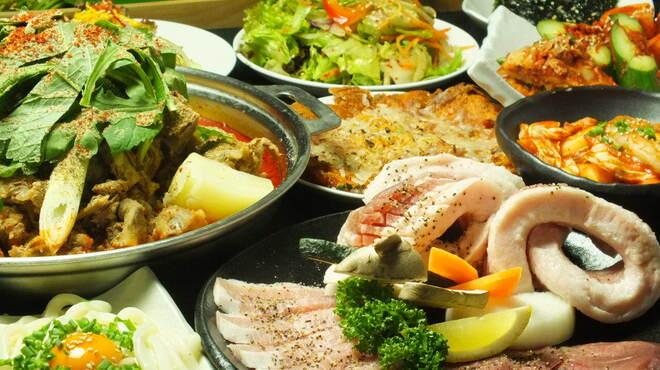ハヌリ - 料理写真:宴会Bコース