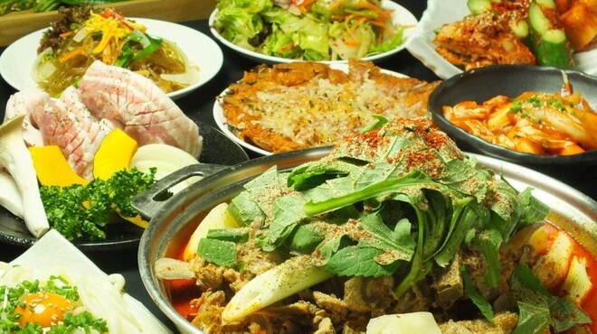 ハヌリ - 料理写真:宴会Aコース