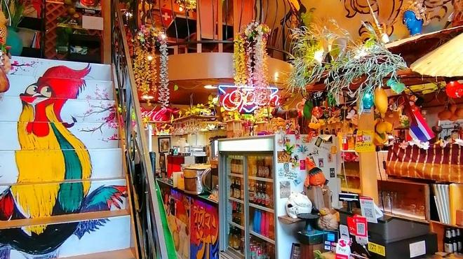 大阪カオマンガイカフェ - 内観写真: