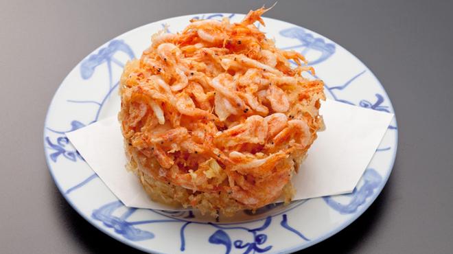 しぞ~か - 料理写真:専用の油で揚げる桜海老のかき揚げは絶品!!