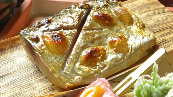 神楽坂 おいしんぼ - 料理写真:三陸ブランド「金華鯖」の塩焼き