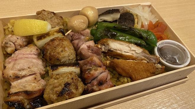 里葉亭 - 料理写真:焼鳥弁当